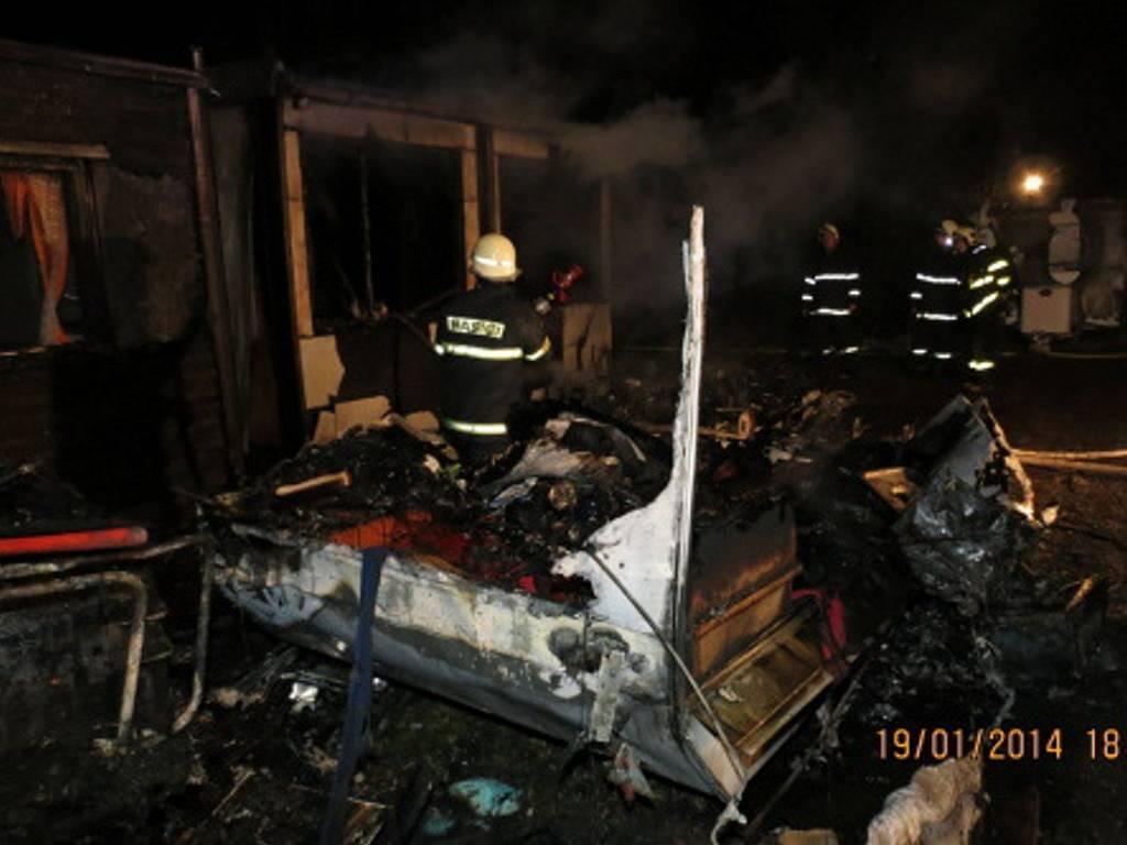 V kempu na Moravě hořely karavany