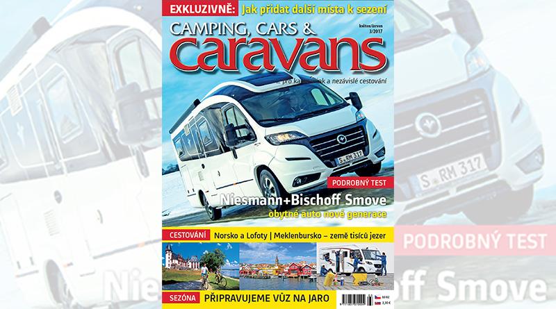 Nový Camping, Cars & Caravans 3/2017