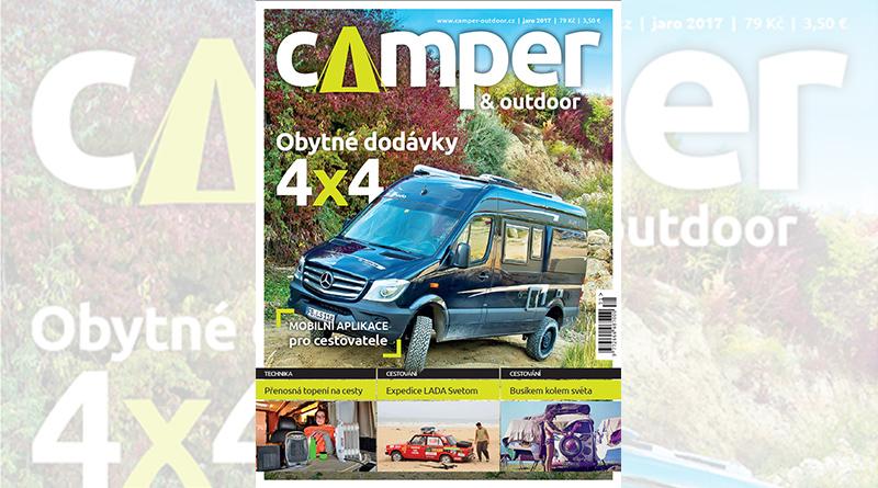 Nové číslo Camper & Outdoor 1/2017