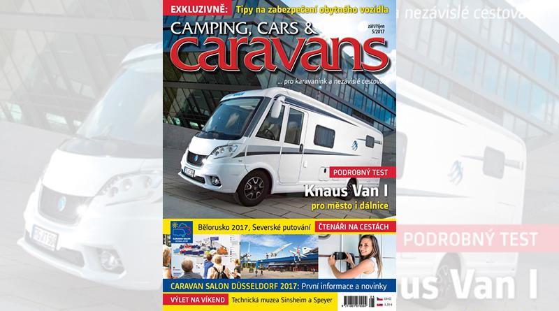 Nový Camping, Cars & Caravans 5/2017