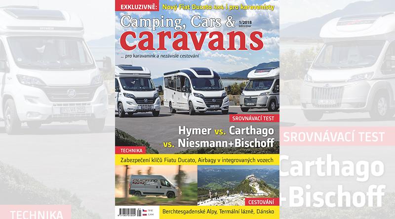Nový Camping, Cars & Caravans 1/2018 (leden/únor)
