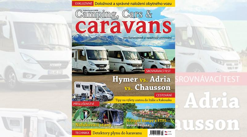 Nový Camping, Cars & Caravans 3/2018 (květen/červen)