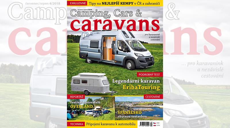 Nový Camping, Cars & Caravans 4/2018 (červenec/srpen)