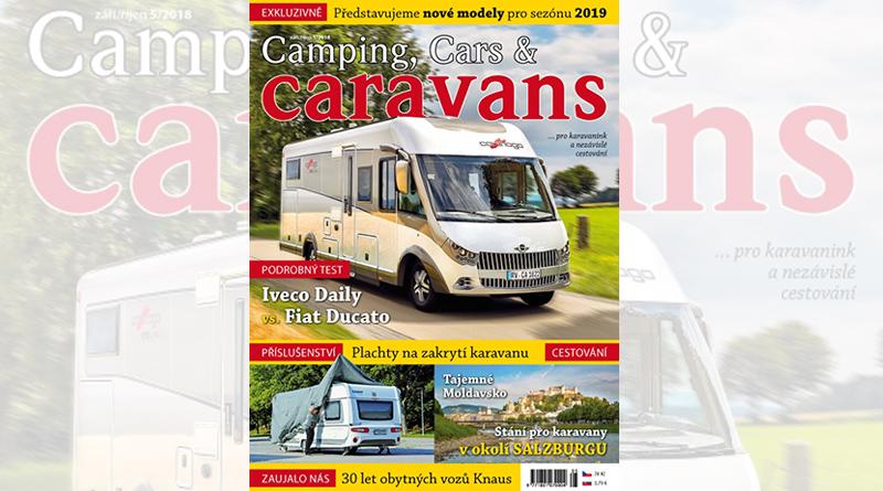 Nový Camping, Cars & Caravans 5/2018 (září/říjen)