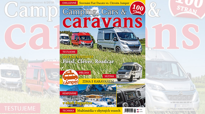 Nový Camping, Cars & Caravans – listopad/prosinec (6/2018)