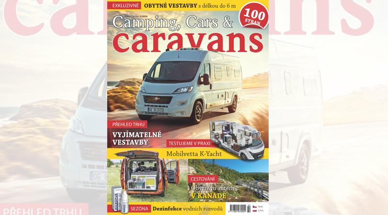 Nový Camping, Cars & Caravans – březen/duben (2/2019)