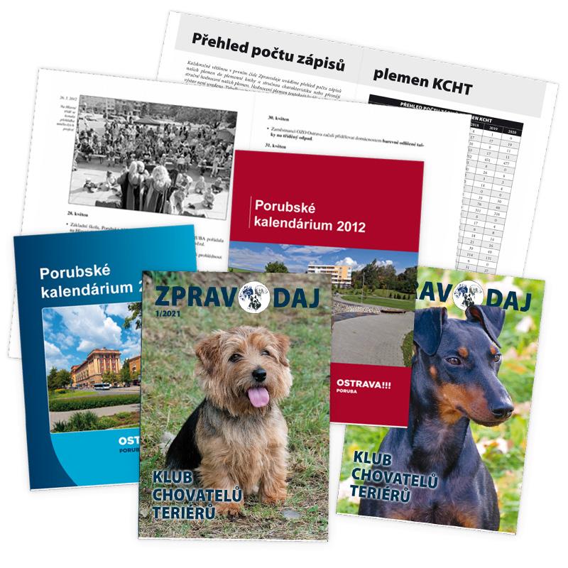 Grafické zpracování brožur, tisk, distribuce