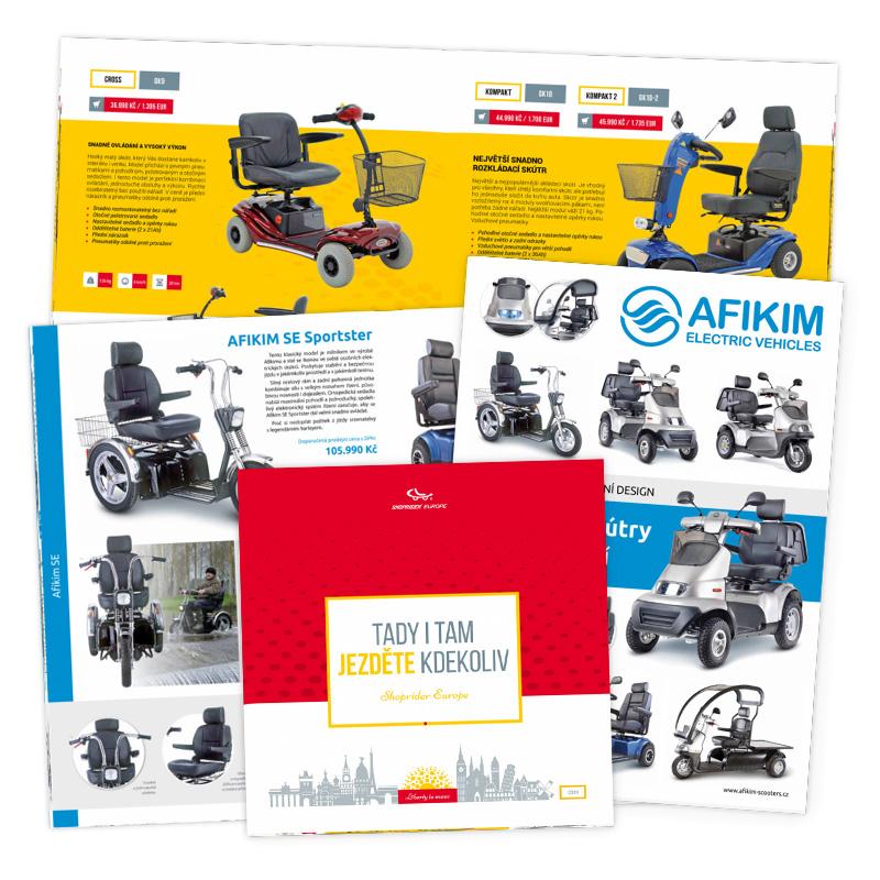 Grafické zpracování a tisk katalogu